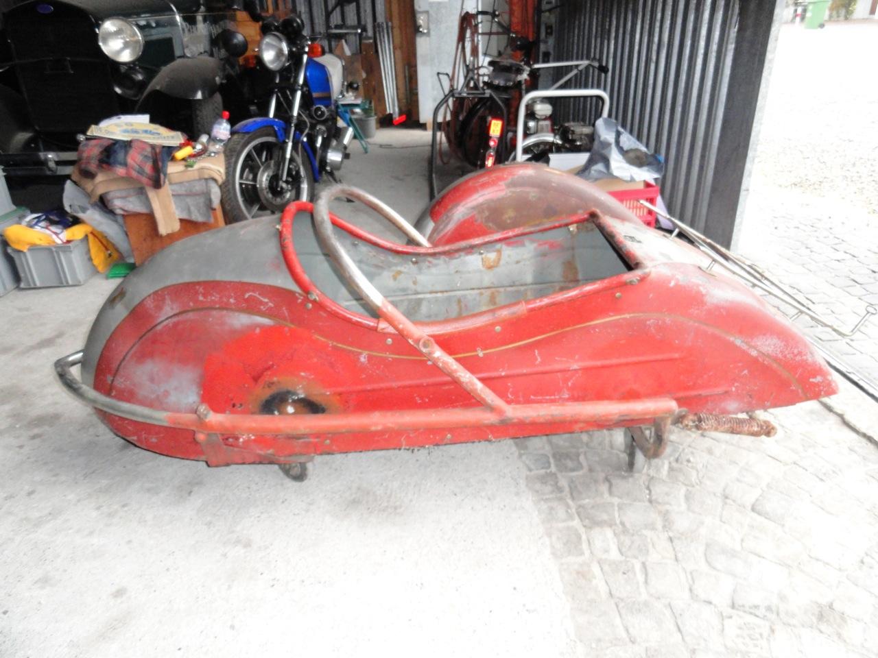 2 Motosacoche sidecar