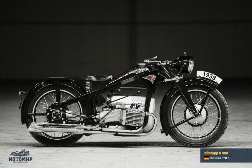 Zundapp K 800 restored motorcycle