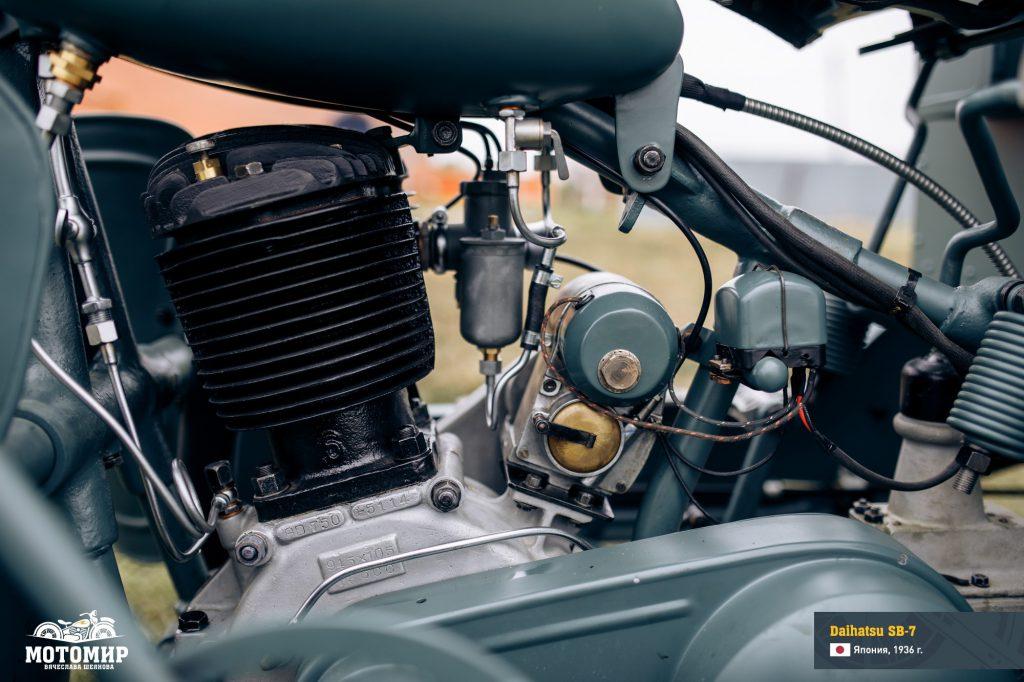 Daihatsu SB7 engine based on MAG