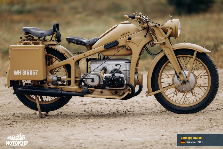 Zundapp KS600, 1941