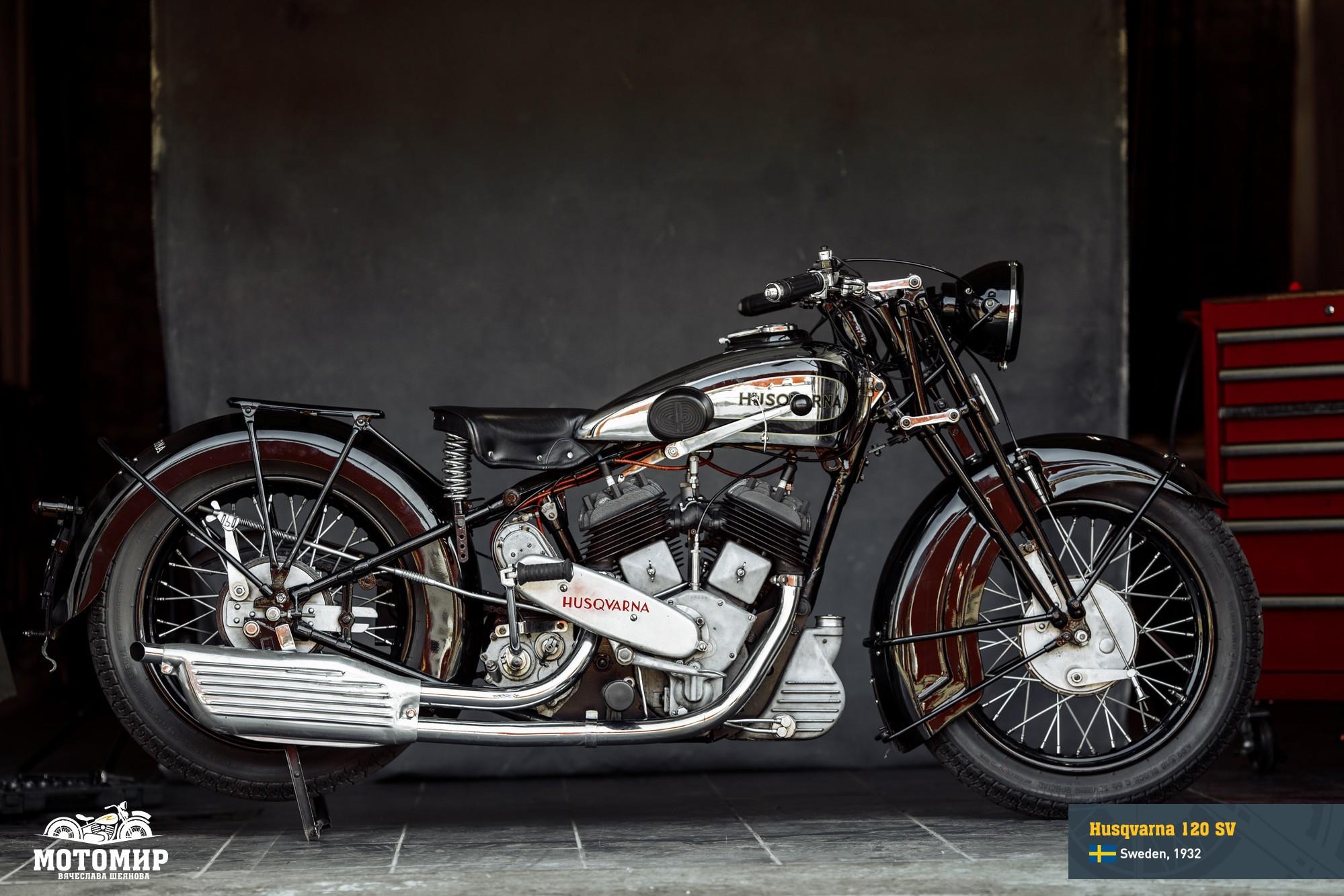 1932, Husqvarna 120 SV