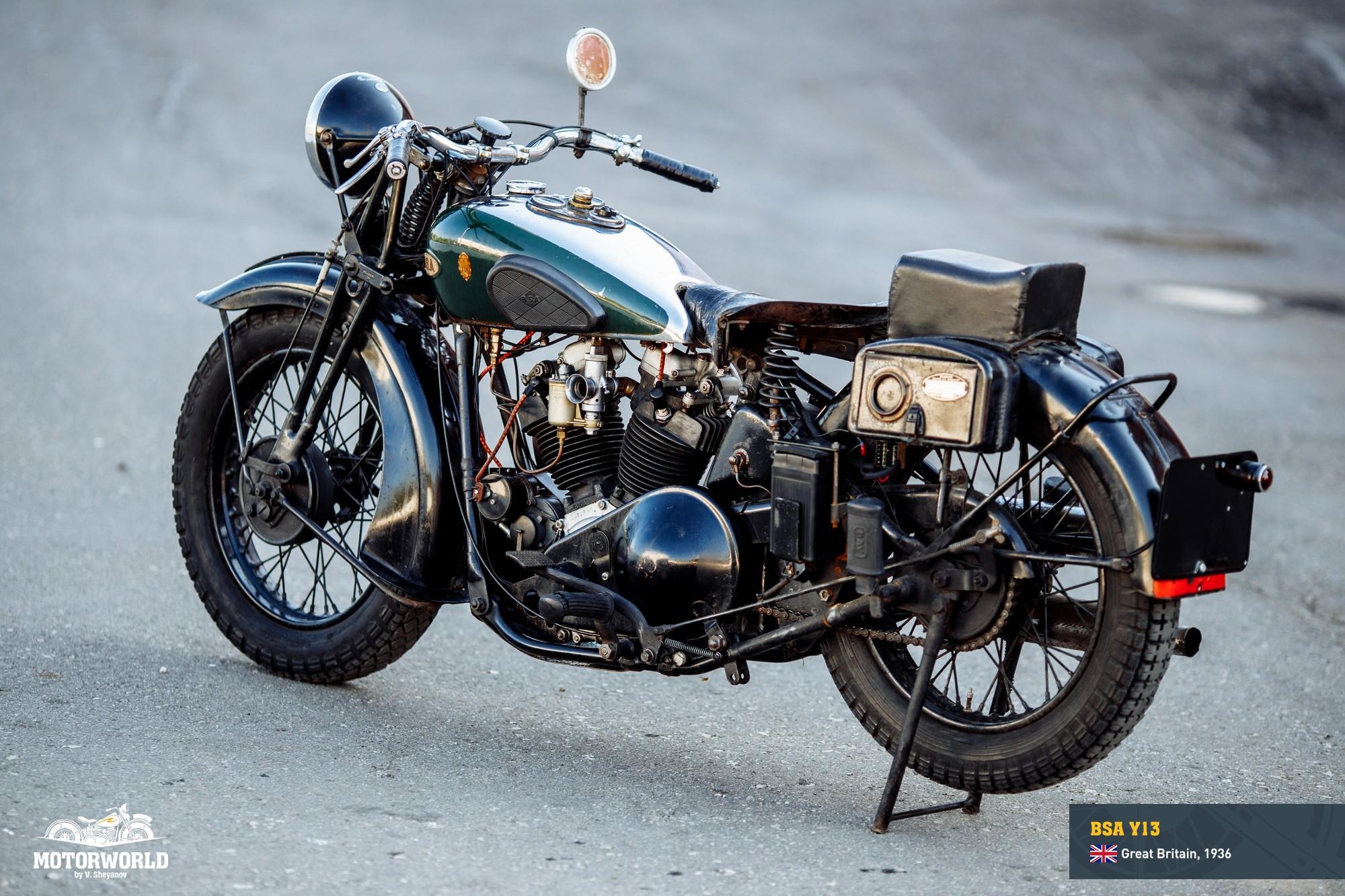1936, BSA Y13