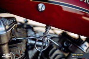 Motorcycle Crocker Small Tank in Motorworld Museum