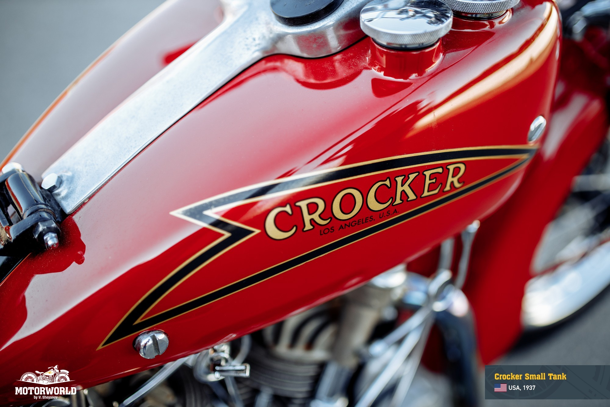 Original Crocker tank