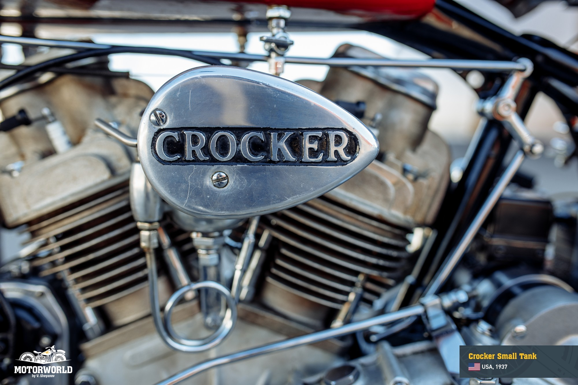 Original 61ci Crocker engine