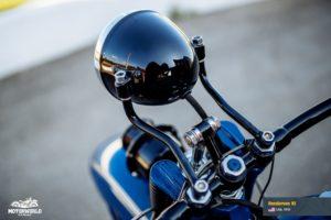 Motorcycle Henderson KJ in Motorworld Museum