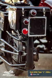 Motorcycle Rene Gillet Type L in Motorworld Museum
