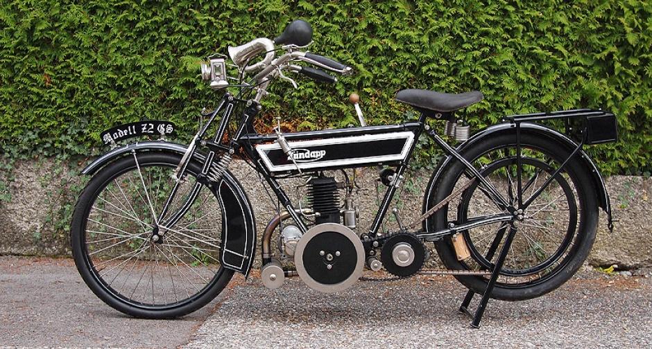 1923 Zundapp Z 22 (211 сс; 2.25 hp)