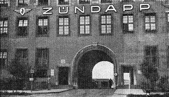 Zundapp factory