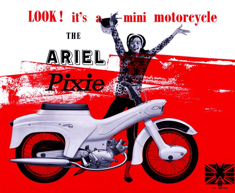 Ariel Pixie 50