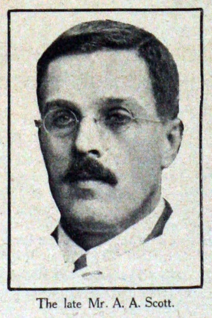 Альфред Ангас Скотт, 1923 год