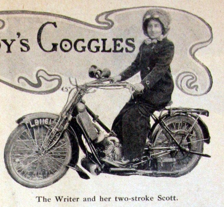 Реклама Scott 1911 г.