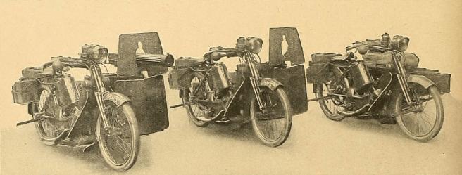 Армия, безусловно, оценила мотоциклы Скотта.
