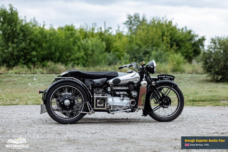 1932 Brough Superior Straight Four