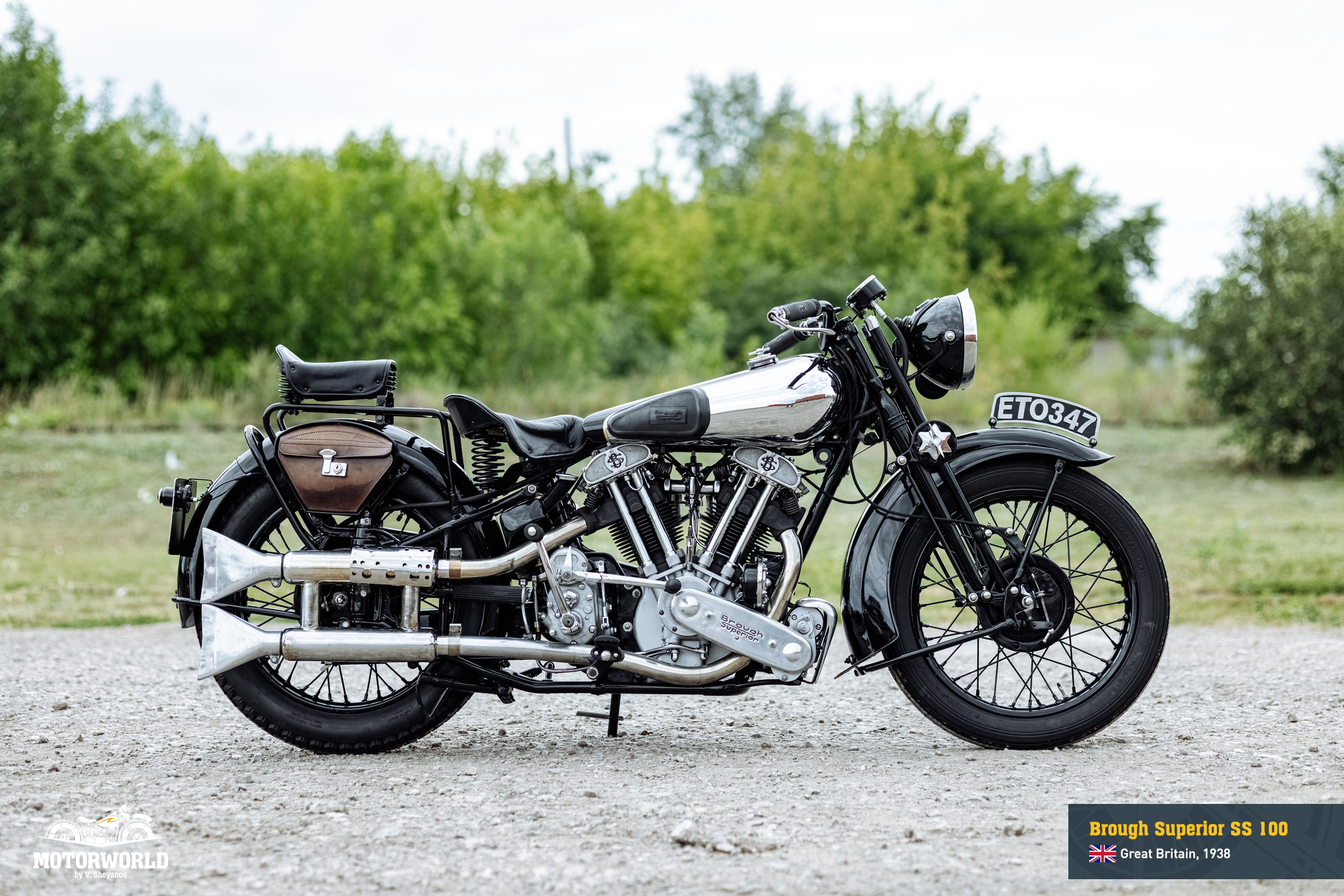 1938 Brough Superior SS 100 (Matchless)