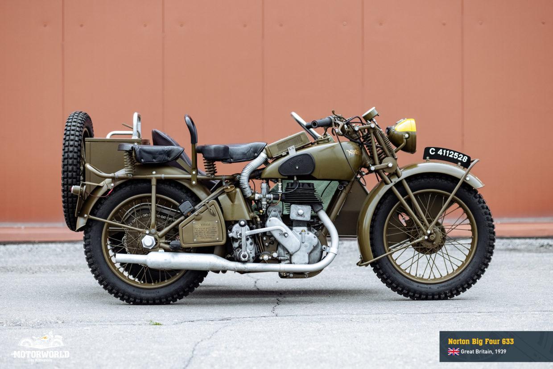 1939 Norton Big 4 WD