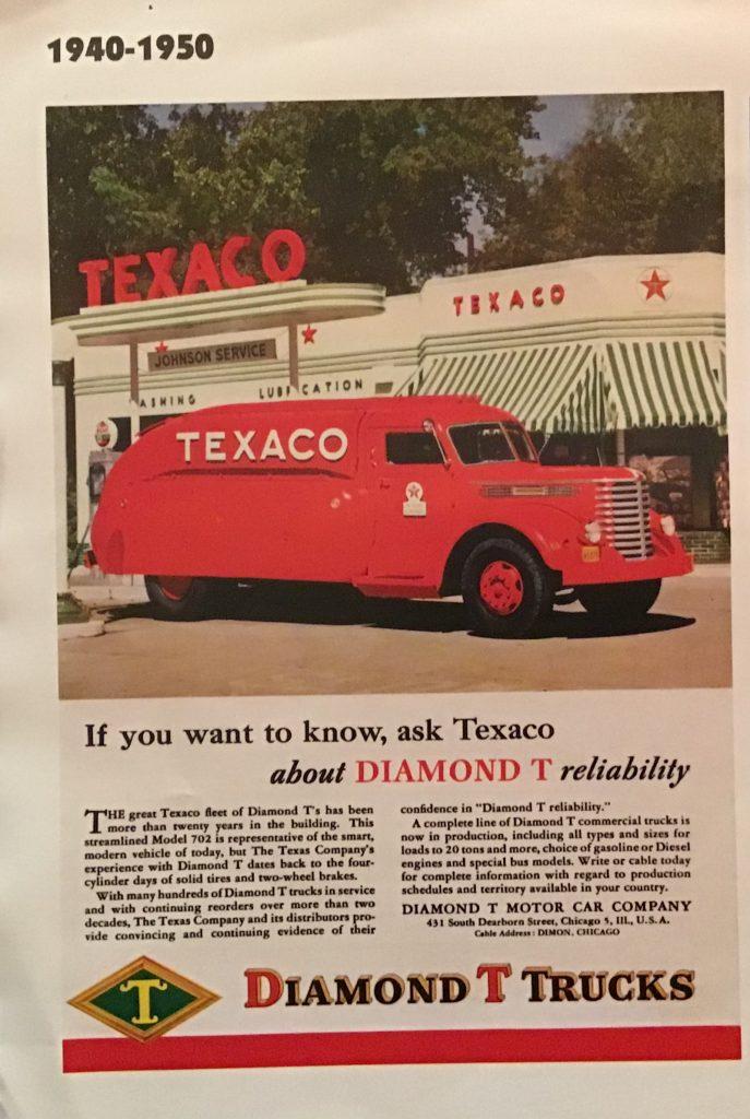 1938 Diamond-T Texaco Tanker Truck